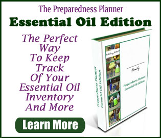 Preparedness Planner Essential Oil Edition