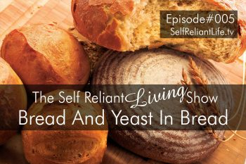 Flour And Yeast In Bread--Self Reliant Living #005