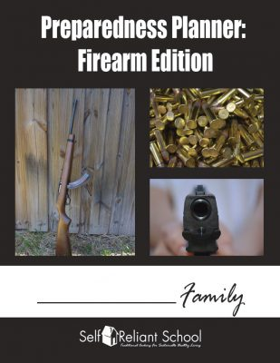 Preparedness Planner: Firearm Edition