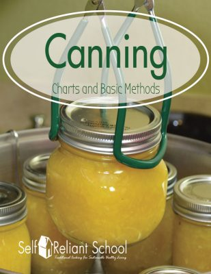 Canning Charts and Basic Methods
