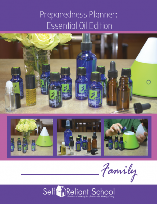 Preparedness Planner: Essential Oil Edition