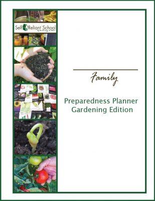 Preparedness Planner Gardening Edition