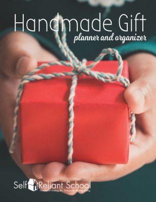 Handmade Gift Planner and Organizer