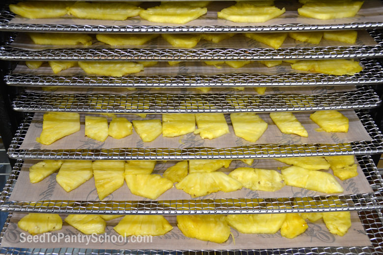 how-to-dehydrate-pineapple