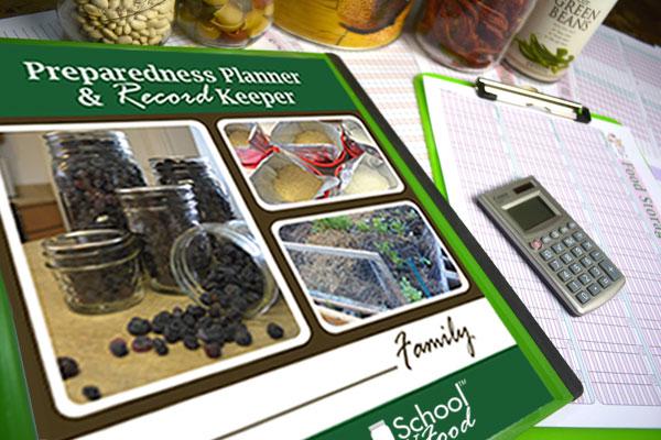 Preparedness Planner pages